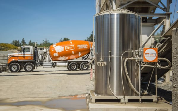 三菱商事が出資したカナダのカーボンキュアはCO2をコンクリートに固定する技術を持つ