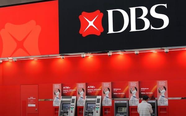 DBSはデジタル分野に期間利益の2割を投じている(ホームページから)