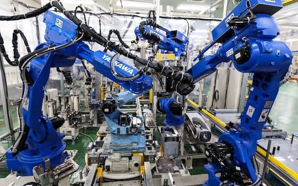 安川電機の時価総額は85%増えた(入間事業所)