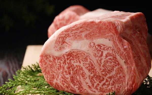 コロナ禍でホテルや高級店での和牛消費に大ブレーキがかかった(A5和牛の肉)