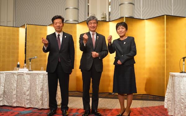 新たに代表幹事に就いた生駒京子氏(写真右)