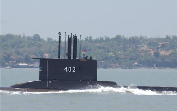 インドネシア海軍の潜水艦「KRIナンガラ402」