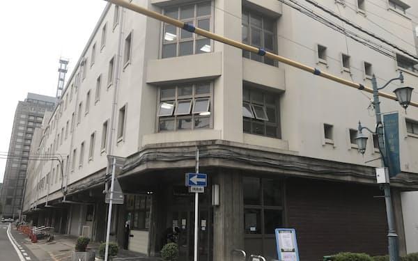 新築する予定の京都市北庁舎