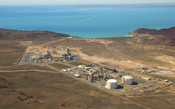 ヤラ・インターナショナルが保有・運営するオーストラリアのアンモニア製造プラント=同社提供