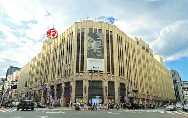 新型コロナウイルスの影響で伊勢丹新宿店の売上高は急減している