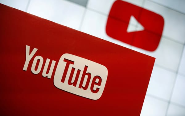 FILE PHOTO: YouTube logo at the YouTube Space LA in Playa Del Rey, Los Angeles, California, United States October 21, 2015. REUTERS/Lucy Nicholson/File Photo