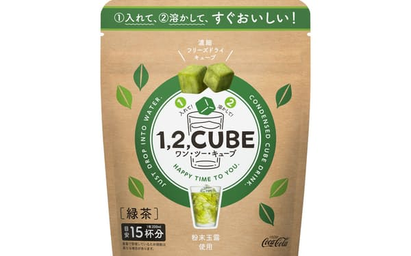 凸版印刷が開発した紙容器は、日本コカ・コーラのフリーズドライ製法の飲料で採用される