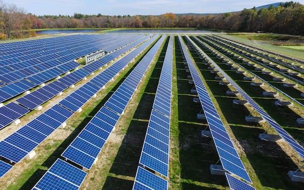 三井物産は太陽光発電事業を拡大している(米国の太陽光発電施設)
