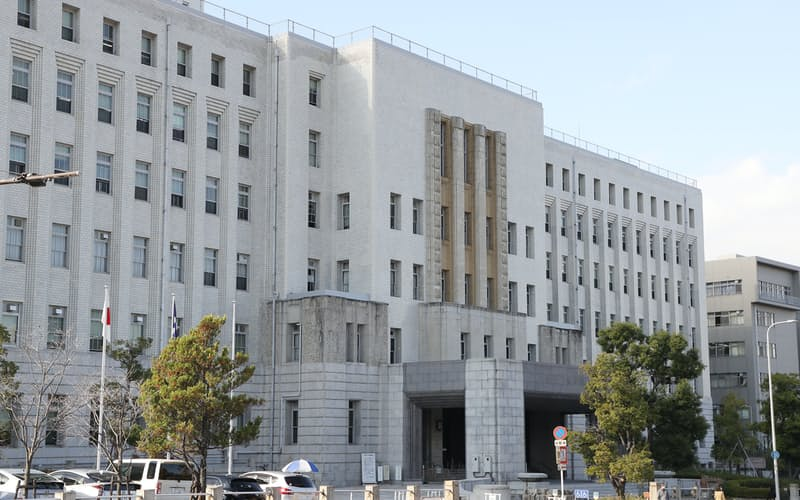 大阪府庁(大阪市中央区)
