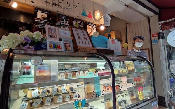 「私のプリン食堂」は居酒屋から衣替えし黒字が見えてきた(大阪市中央区)