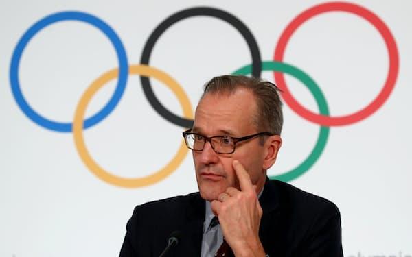 IOC広報担当のアダムズ氏は東京五輪開催を強調した(写真は19年)=ロイター