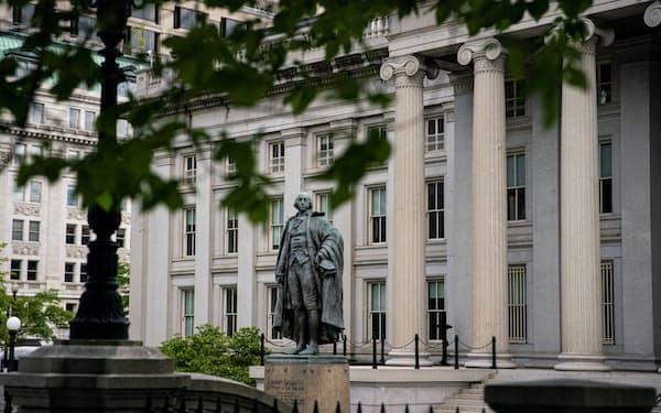 米ワシントンの財務省=ロイター