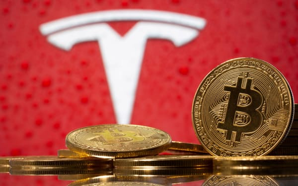 テスラは3月下旬に米国でビットコイン決済に対応し始めていた=ロイター