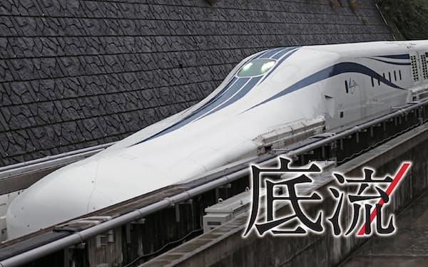 JR東海が公開したリニア中央新幹線
