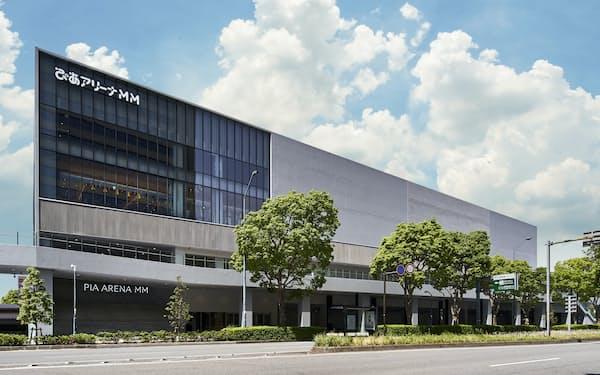 ぴあが2020年に開業した「ぴあアリーナMM」(横浜市西区)