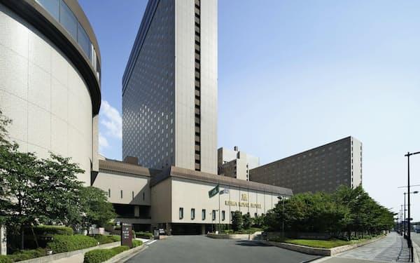 リーガロイヤルホテル(大阪市)は新型コロナ禍で稼働率が低迷