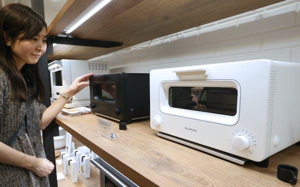 バルミューダはトースターや扇風機などで新機軸を打ち出している
