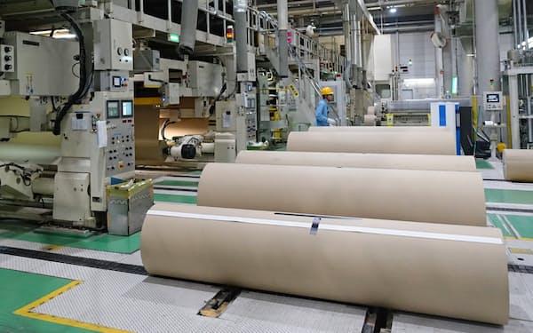埼玉県川口市のレンゴーの東京工場