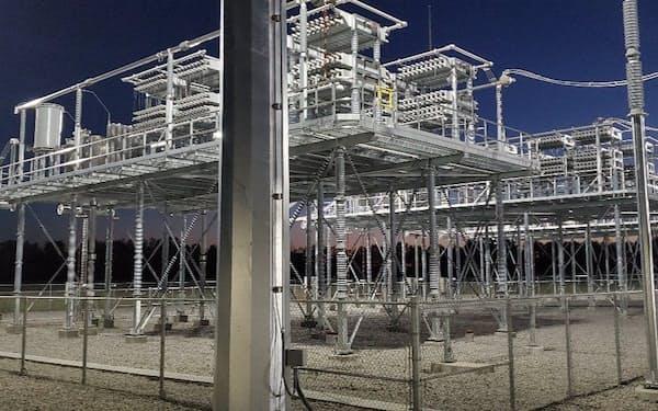 日立は米国―カナダ間の長距離高圧送電線向けの設備を納入