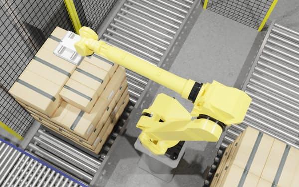 荷下ろし用のロボット制御ソフトの提供を始める