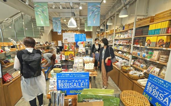 店舗デザインや商品管理のシステムなどプラットフォームサービスを提供(東京都目黒区の「田ノ実 自由が丘」)