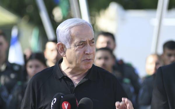 イスラエルのネタニヤフ首相=AP