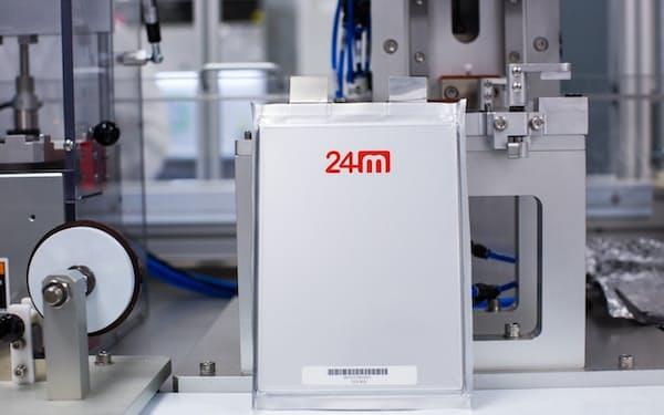 24Mテクノロジーズが開発する半固体電池