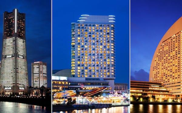 滞在型の観光プランで3ホテルが連携する
