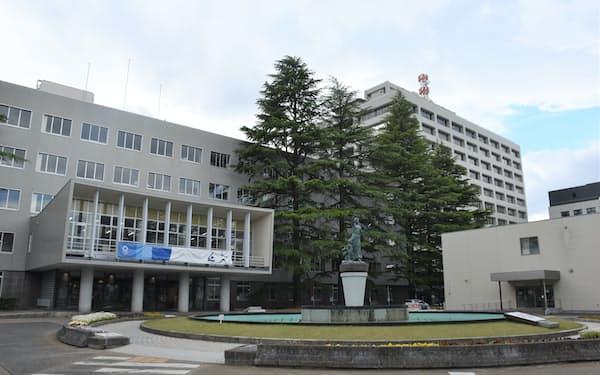 福島県は新型コロナウイルス対応で115億円の補正予算を編成(県庁)
