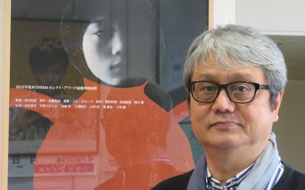 北海道函館市のミニシアター「シネマアイリス」代表の菅原和博さん