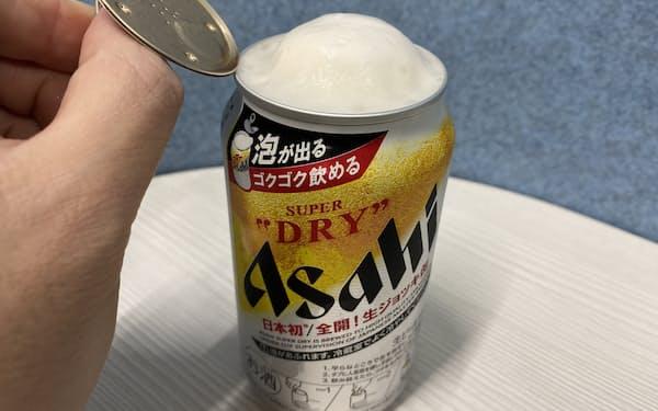 アサヒビールのスーパードライ「生ジョッキ缶」