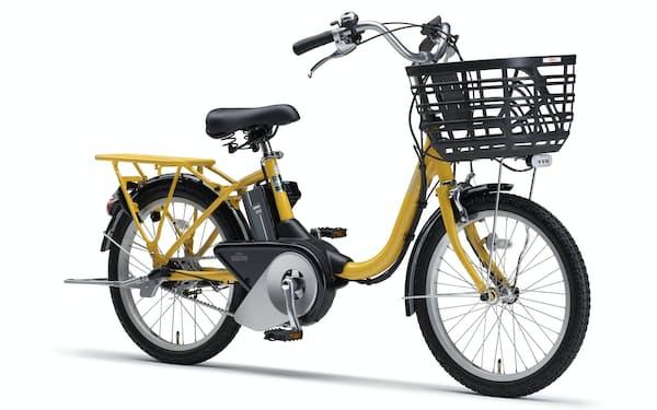 ヤマハ発の電動アシスト自転車「PAS SIONーU」