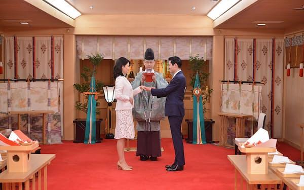 帝国ホテルは2人だけで神前式を挙げるプランを発売