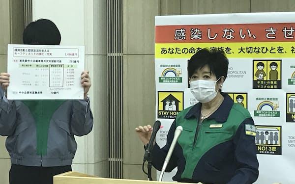 東京都は経済対策などを盛り込んだ6月補正予算案を編成した