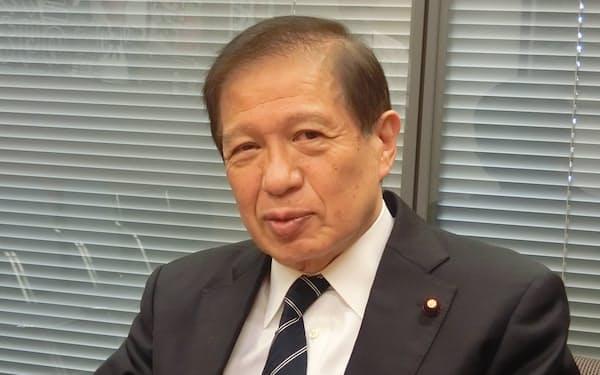 自民党の三ツ矢憲生氏