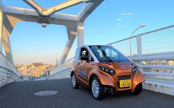 FOMM(フォム)の小型EVは日本では軽自動車として公道を走る