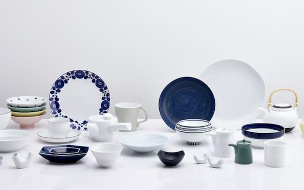 白山陶器の製品