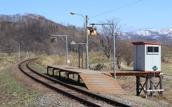 「秘境駅」として知られる糠南駅(北海道幌延町)は存続