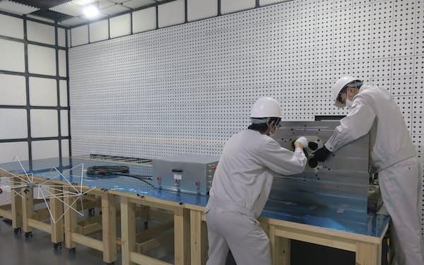 EVモーターシステムの電磁波測定サービスを始める(北川工業の事業所)