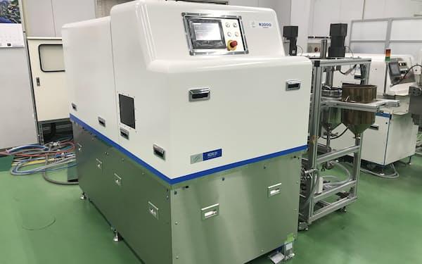 処理能力を高めたCNF生産装置