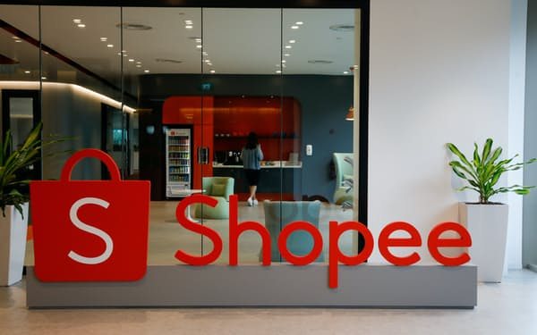 ネット通販事業「ショッピー」は流通総額の拡大が続くものの、伸び率は鈍化しつつある=ロイター