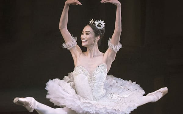 英ロイヤルバレエ団のプリンシパル昇格が発表された金子扶生さん(同バレエ団提供・共同)