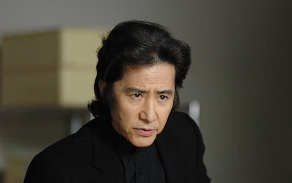 2006年1月放送の「古畑任三郎ファイナル 第1夜 今、甦る死」での田村正和さん=フジテレビ提供