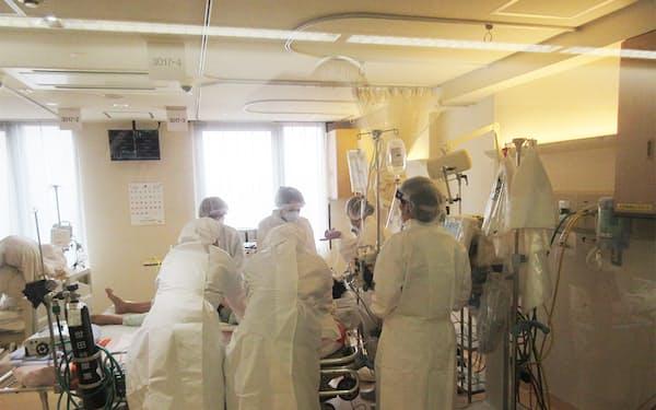 河北総合病院はコロナ専用病棟で1100人以上を受け入れている