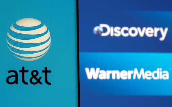 AT&Tは傘下のメディア事業「ワーナーメディア」を分割し、メディア大手ディスカバリーと統合して新会社を設立すると発表した=ロイター