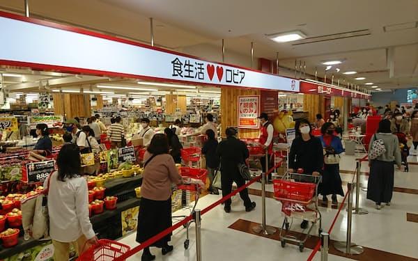 茨城県初進出の低価格食品スーパーは人気の的