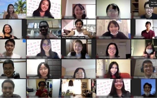 日本へ来た留学生のコミュニティー事業を強化する