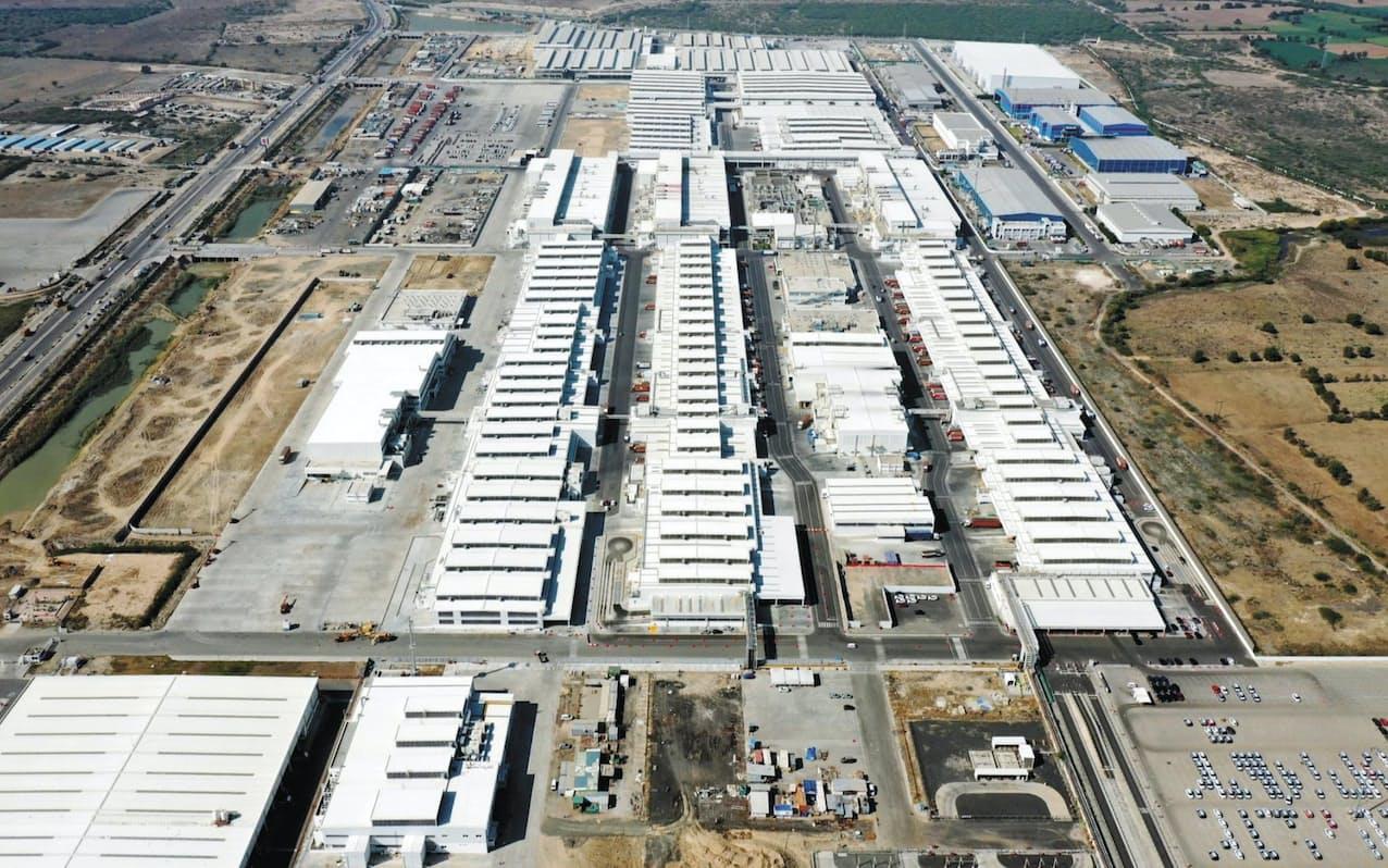 スズキはインドで工場を再開した(グジャラート州の工場)