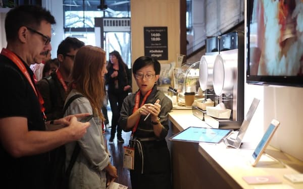 パナソニックは社外展示会で異なる考えを吸収する