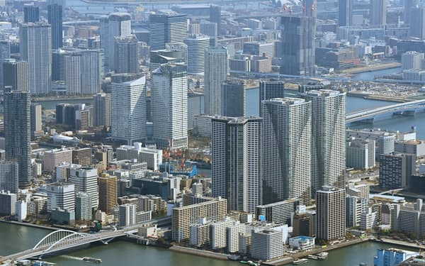 法改正でマンションなどの優良認定を後押しする(東京都中央区)
